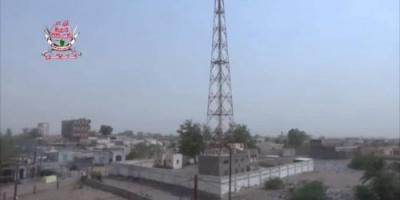 مليشيا الحوثي تواصل قصف مواقع ألوية العمالقة بالتحيتا