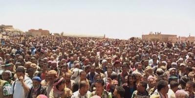 الآلاف يشيعون جثمان الشهيد صالح العتبات إلى مسقط رأسه في مريس (صور)
