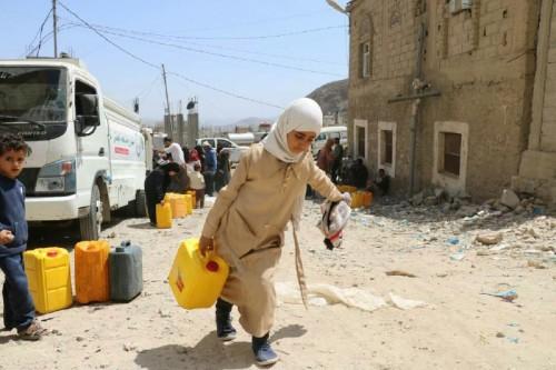 العطش.. عندما تجتمع مليشيات «الإخوان والحوثي» على قتل البراءة في تعز