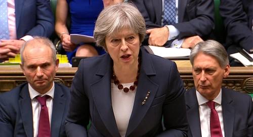 """""""ماي"""" تطرح 4 خيارات للبرلمان البريطاني بشأن """"بريكست"""""""