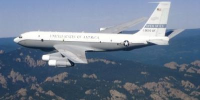 في إطار معاهدة السماوات المفتوحة.. طائرة عسكرية أمريكية فوق الأراضي الروسية