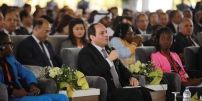 الرئيس السيسي: أثبتت تجربة المؤتمر الوطني الأول للشباب نجاحا كبيرا