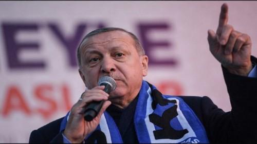 """أنصار أردوغان يتشاجرون على """" الشاي """""""
