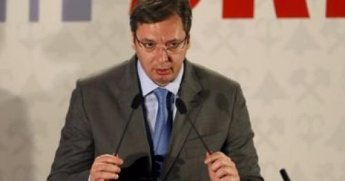 رئيس صربيا: أتعهد بالدفاع القانون والنظام فى البلاد من المعارضة