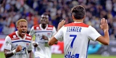 ليون ينتزع فوز قاتل على مونبيليه في الدوري الفرنسي