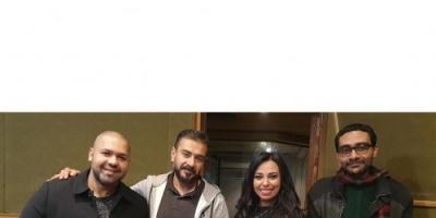 مروة ناجي تشارك جمهورها بكواليس تصوير أغنية حدوتة (صور)