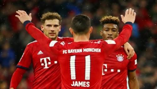 بايرن ميونيخ يفوز على ماينز 6-0 في الدوري الألماني
