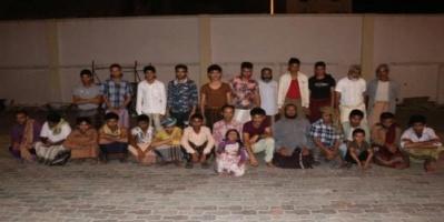 القبض على عصابة تستخدم الأطفال للتسول في الشيخ عثمان