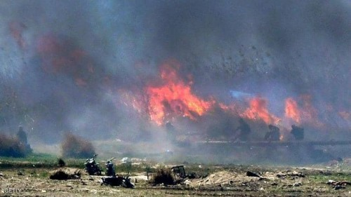 داعش تلفظ أنفاسها الاخير وتبعث رسائل لعناصرها للثأر من الأكراد