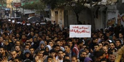 """""""فتح"""" تطالب بحماية دولية للمتظاهرين ضد اعتداءات حماس"""
