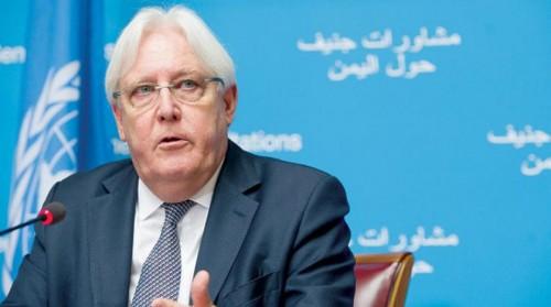 غريفيث: تقدم ملموس لتنفيذ المرحلة الأولى من اتفاق إعادة الانتشار في الحديدة