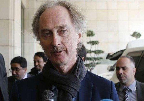 مبعوث أممي: حل الأزمة السورية يبدأ من بناء الثقة والمصالحة بين الأطراف