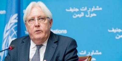 مصدر بالحكومة يرد على غريفيث وينفي أي تقدم في تنفيذ اتفاق السويد