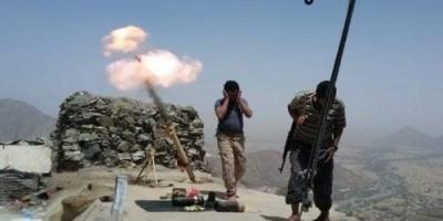 المقاومة الجنوبية تتصدى لهجوم حوثي على المواقع الأمامية للقوات بثرة