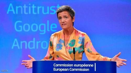 1.7 مليار دولارغرامة أوروبية على جوجل لمخالفتها اللوائح