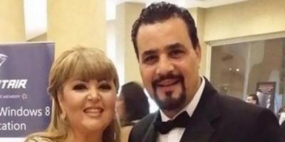 الفنان مجدي كامل يهنئ زوجته مها أحمد بعيد الام (فيديو)