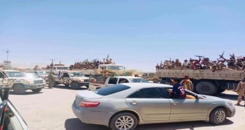شهود عيان: وصول تعزيزات عسكرية للنخبة الشبوانية في عتق