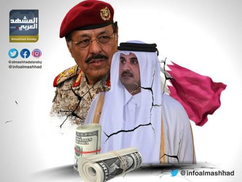 """الأموال القطرية سلاح """"الإصلاح"""" لتدمير تعز (انفوجرافيك )"""
