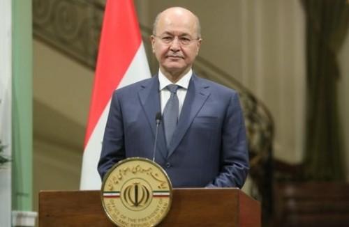 """أهالي ضحايا عبارة """"الموصل"""" المنكوبة يمنعون الرئيس العراقي من الدخول لموقع الحادث"""