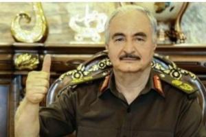 مظاهرة ليبية لدعم وتأييد القوات المسلحة ورفض الإخوان