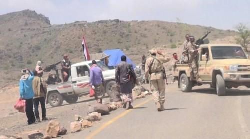 تجدد المواجهات بين الجيش وميليشيا الحوثي في دمت شمالي الضالع