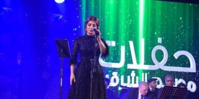 بالصور.. النجمة أصالة تشعل المسرح بحفلها الأخير بالسعودية