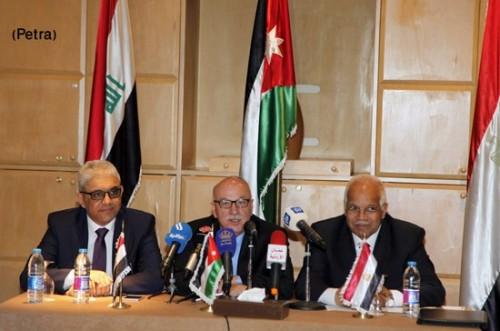 قمة بين الأردن ومصر والعراق لتعزيز التعاون بين البلدين