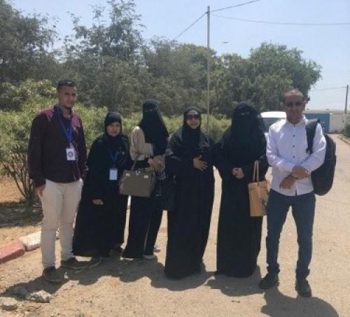 دائرة حقوق الإنسان بالمجلس الانتقالي تزور دار المسنين بالعاصمة عدن