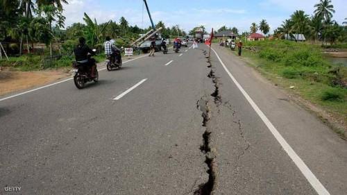 زلزال بقوة 5.8 ريختر يضرب جزيرة سولاويسي الإندونيسية