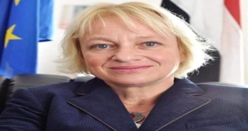 سفيرة الاتحاد الأوروبي والهلال الإماراتي يشاركان في ورشة عمل بالعاصمة عدن
