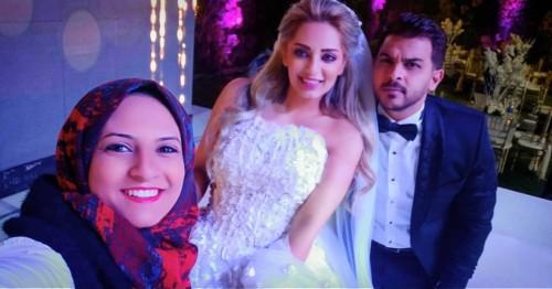 شاهد الصور الأولى من حفل زفاف محمد رشاد ومي حلمي