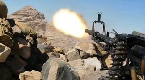 مصرع قائد مليشيات الحوثي في دمت بشمال الضالع مع 40 عنصراً
