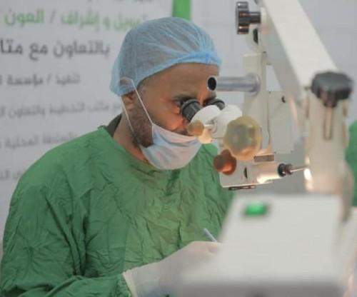 تفاصيل نجاح أول عملية جراحية لاستئصال ورم سرطاني بردفان