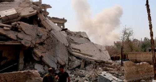 استسلام عشرات المسلحين من تنظيم داعش في الباغوز السورية