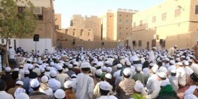 احتفالية دينية بالذكرى 71 لحولية قراءة المولد النبوي في سيئون (صور)