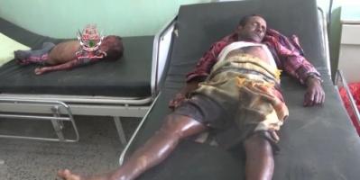 استشهاد 3 مواطنين بينهم طفل بقصف حوثي في حيس بالحديدة (فيديو)