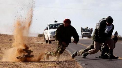 """عناصر داعش تشن هجومًا مسلحًا على بلدة """" غدوة """" الليبية"""