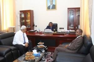 برعاية البحسني.. لقاءات مشتركة بين السلطة التنفيذية والقضائية لحل المشاكل المتراكمة