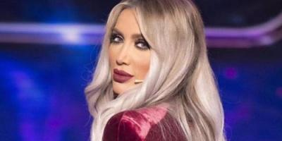 فيديو صادم لمايا دياب أثناء مشاركتها بمسابقة ملكة جمال لبنان