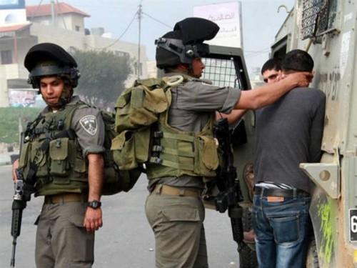 الاحتلال الإسرائيلى يعتقل 10 فلسطينيين من الضفة الغربية