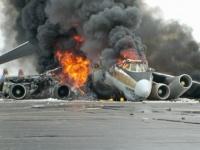 طيار يسرق طائرة لقتل زوجته فيلقى مصرعه بداخلها (فيديو)