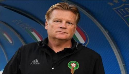 المغرب تقيل مدرب المنتخب بعد الخسارة من الكونغو