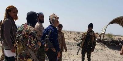 """""""الشنيني"""" يقوم بزيارة تفقدية لمواقع قوات الحزام الأمني بأبين"""