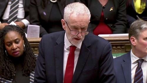 """زعيم العمال البريطاني: موقف تيريزا من """"بريكست"""" تسبب في """"الإرباك الوطني"""""""
