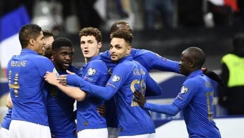 منتخب فرنسا يضرب شباك آيسلندا بخماسية