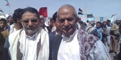 شاهد.. حزب الإصلاح يشارك الحوثي تظاهرة بمناسبة ذكرى عاصفة الحزم