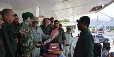 إدارة أمن عدن تحتفل باليوم العالمي للدفاع المدني (صور)