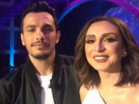 رسالة أنغام وزوجها أحمد إبراهيم بعد ظهورهما مع نيشان (فيديو)