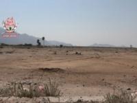 مليشيات الحوثي تواصل قصف مواقع العمالقة في حيس بالحديدة