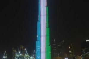 الإمارات تحتفل بزيارة رئيس أوزبكستان على طريقتها الخاصة
